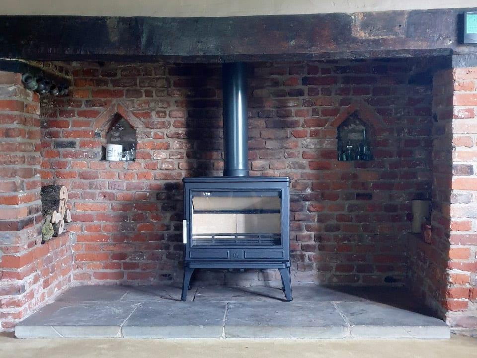 stove installation suffolk
