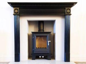 Clock-blithfield-stove-installation-takeley